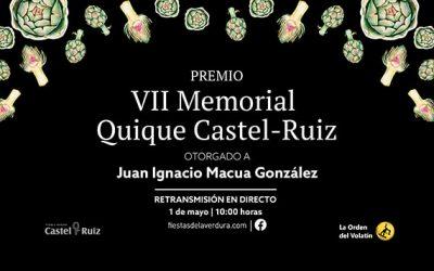 VII Premio Memorial Quique Castel Ruiz