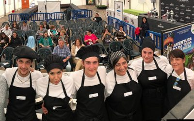 Escuela-taller de cocina Mamen Moracho y Virginia Marín