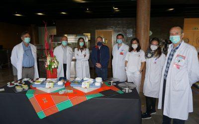 Las Fiestas de la Verdura llegan al Hospital Reina Sofía de Tudela con menús especiales