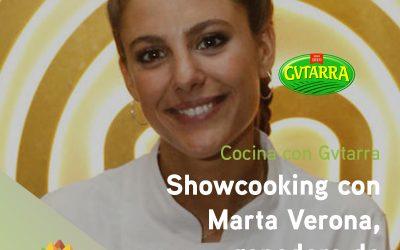 Showcooking con Marta Verona, ganadora de MasterChef 6