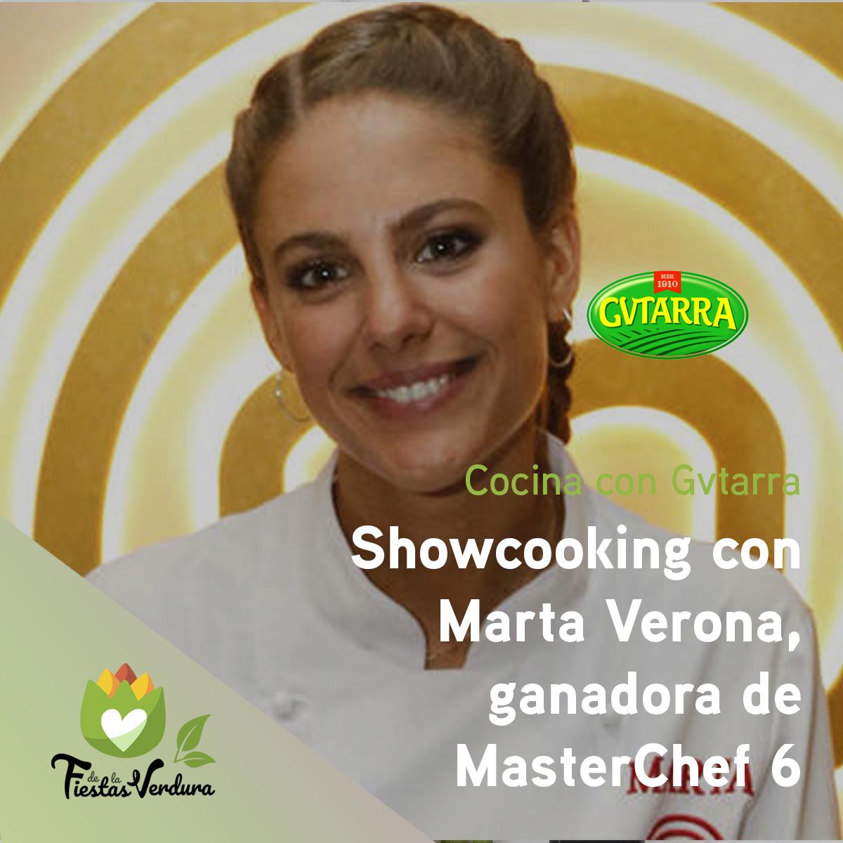 Showcooking Marta Verona
